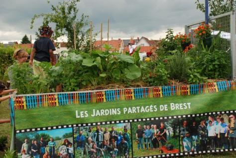 le jardin nomade à Nantes, au jardin de la Fournilière